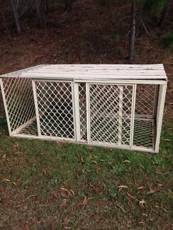 Large double dog cage Morayfield Caboolture Area Preview