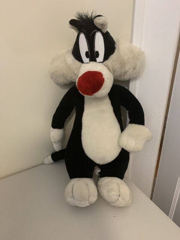 """Play By Play Jumbo 28"""" Plush Looney Tunes Sylvester Cat K7"""