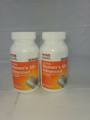 2 PK CVS Brand Women's 50+ Advanced Daily Multivitamin EXP:01/22 NO BOX (B5)