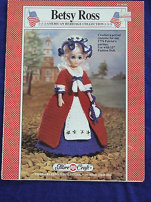 VINTAGE CROCHET BETSY ROSS OUTFIT FOR 15