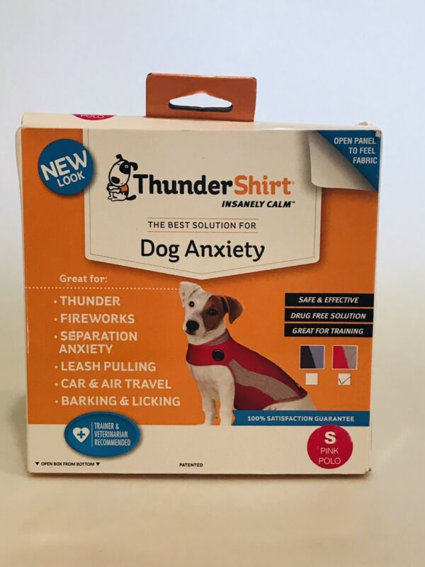 ThunderShirt Small PINK POLO 15-25 lbs New In Box