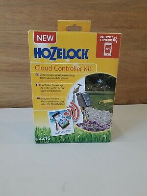 Hozelock Cloud 2216 Controller Aqua Water Timer Garden Watering Irrigation NEW