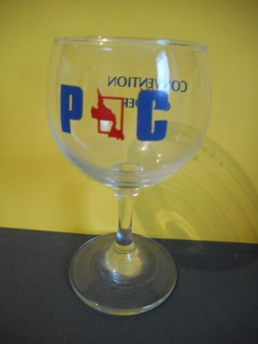 Newfoundland,Political Convention,Wine Glass,Progressive Conservative,Gander 81