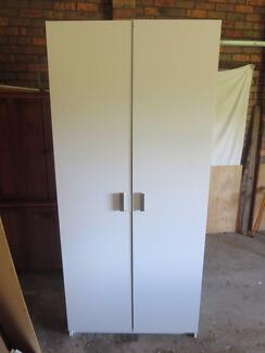 White 2 Door Wardrobe Mount Riverview Blue Mountains Preview