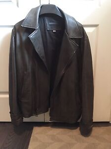 Authentic John Varvatos Napa Leather Jacket