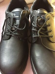 Brand new men's steel toed shoes