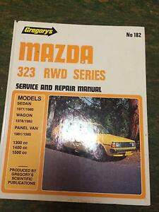 Mazda 323 RWD Workshop Manual Thornbury Darebin Area Preview