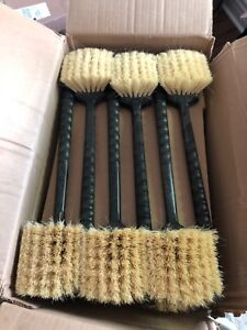 Carlisle plastic handle brush case of 12