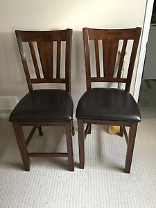 LEATHER BAR STOOLS ****MOVING NEED GONE ASAP****