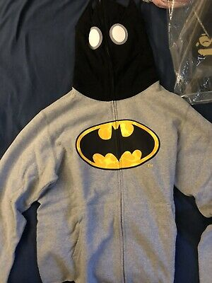A BATHING APE Bape x DC Comics Batman Full zip Hoodie XL SIZE Gray Deadstock