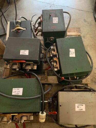 LOT OF BANDSAW WELDERS AND ANNEALER