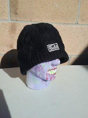 f78d7c51258 Bula Beanie winter hat black knit good condition