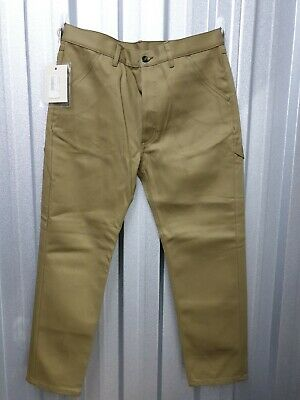 Made In Italy Nine In The Morning Men's Cotton Chino Style Work Pants 35W 28L