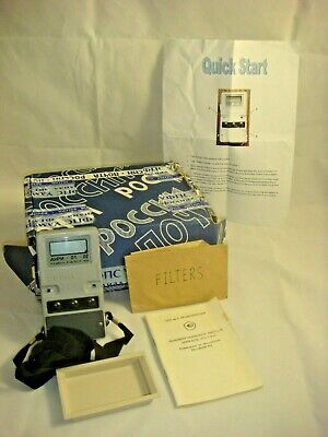 Soviet Russian Dosimeter Radiological Geiger Counter With English Instructions