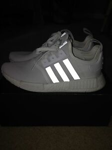 TRADE ONLY Adidas triple white nmd size 10