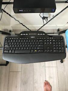 Logitech wireless 710 keyboard