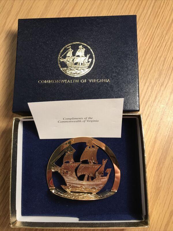 Commonwealth Of Virginia Ornament