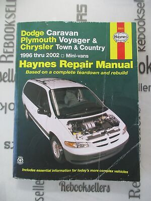 Haynes Dodge Caravan, Plymouth Voyager and Chrysler Town and Country Mini-vans ( Country Plymouth Voyager Vans