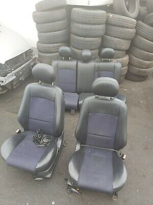 FORD FOCUS MK1 ST170 2001 - 2004 3 DOOR COMPLETE INTERIOR HALF LEATHER SEATS