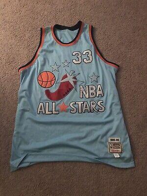 Mitchell & Ness 1985-86 NBA ALL STAR Jersey Celtics LARRY BIRD SIZE 60