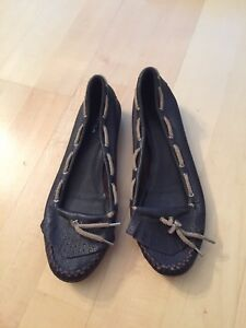 Via Spiga Genuine Leather Loafers