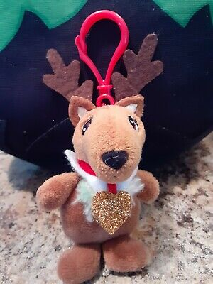 "Elf on the Shelf Elf Pets Plushee Pals Mini Reindeer Clip-On 4"" Plush Christmas"