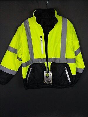 Radwear jacket 4 in 1 reversible hi vis. SZ L NWT