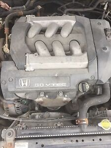 2001-2002 Honda 3.0 v-6 motor for an accord