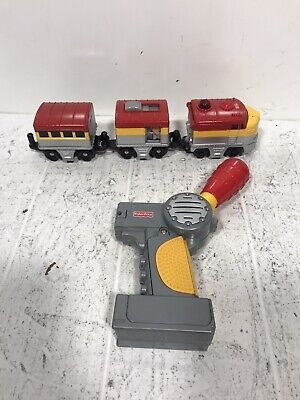 Fisher Price GeoTrax H8100 Pacific Chief Train - Engine, Cars Works