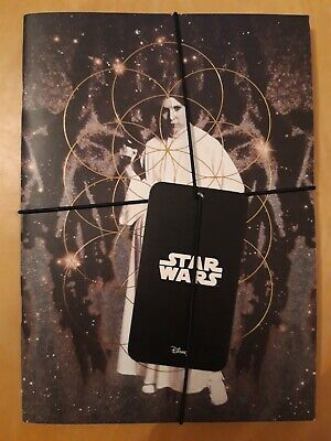 Star Wars Note books set of 2 - Princess Leia & Darth Vader Jotters Pad School