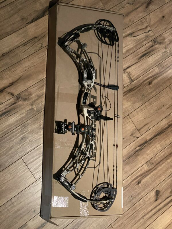 """New 2020 Xpedition  Compound Bow 30"""" RH 60# Realtree Excape Hunting"""