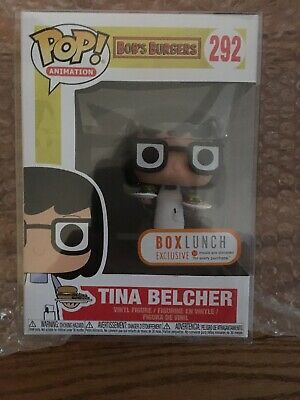 Funko Pop! #292 Bob's Burgers Tina Belcher with Burgers Box Lunch Exclusive](Bob's Burgers Tina)