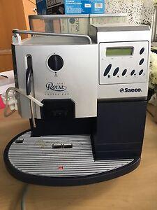Saeco royal coffee bar espresso and cappuccino machine.