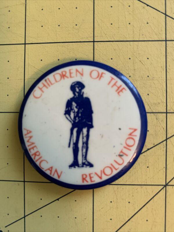 "Vintage Pin ""Children of The American Revolution"""