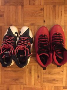 Selling old ball shoes both AS IS! Still in decent condition