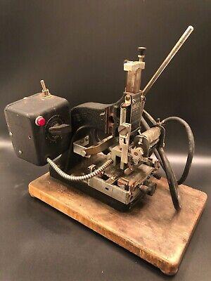 Kingsley Machine Co. Hot Stamp Machine Model Kte-6