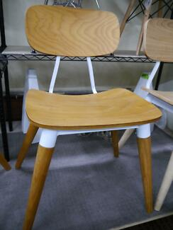 New Replica Metal Timber Retro Danish Scandi Dining Chairs Chair Richmond Yarra Area Preview
