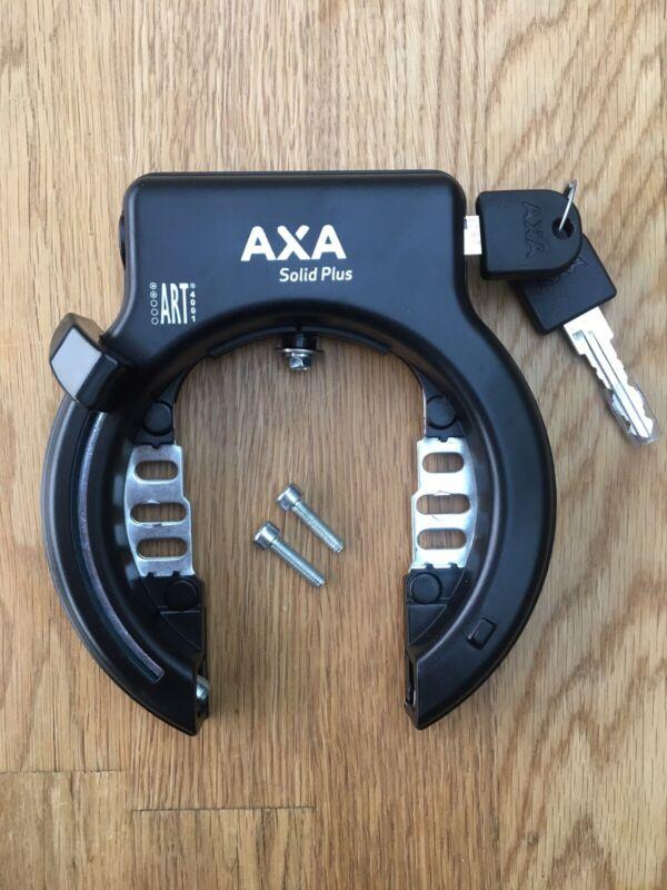 AXA Solid Plus Frame Lock For Bike