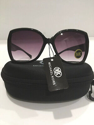 Michael Kors Women's Gradient Black Butterfly Sunglasses, new without (Butterfly Gradient)
