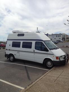 Ford transit diesel campervan  hi top low kms West Beach West Torrens Area Preview