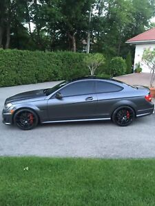 2012 Mercedes C63 AMG Coupe P31 Edition