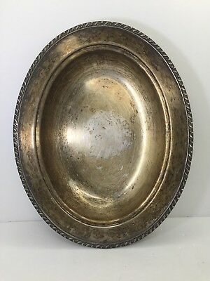 Vintage Lifetime Brand Silverplate Oval Dish