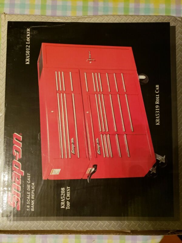 Snap On Tools  1:8 Scale Die Cast Bank KRA 5319, 5208,5012 New in Box