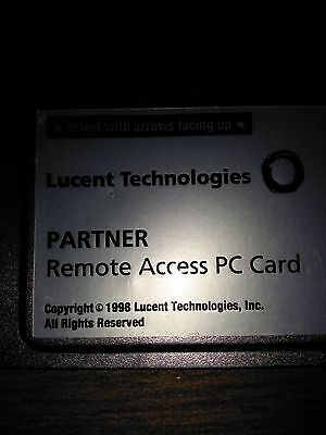 Avaya Partner Acs 12g5 700317035 Pc Card Remote Access Pc Card