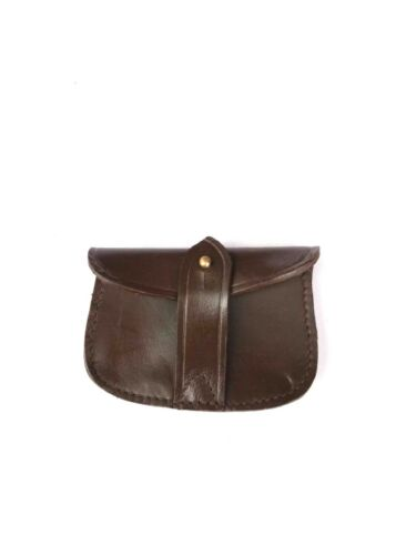 WW1 WEBLEY OFFICERS REVOLVER AMMO POUCH for SAM BROWN SET - LEATHER REPRO