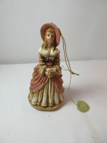 Louis Nichole Christmas Ornament Victorian Lady In Sunbonnet