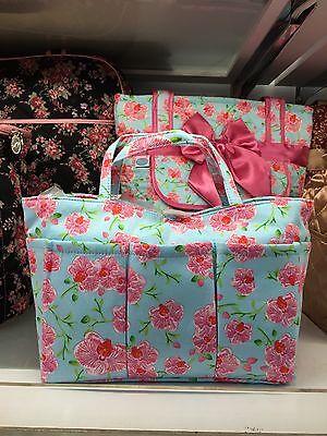Brand New Blue / Flower Naraya Woman's Bag Purse Best Quality