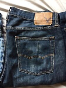 American Eagle and Hollister jeans