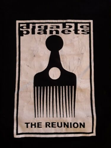 DIGABLE PLANETS - THE REUNION - TOUR SHIRT - 2005 - LARGE