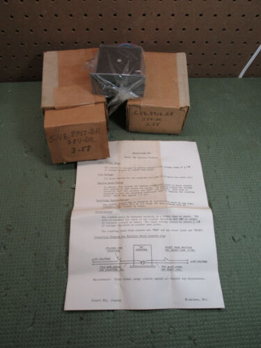(2) NOS VINTAGE DURANT PRODUCTIMETER INDUSTRIAL MACHINE COUNTER 5YE8950ER